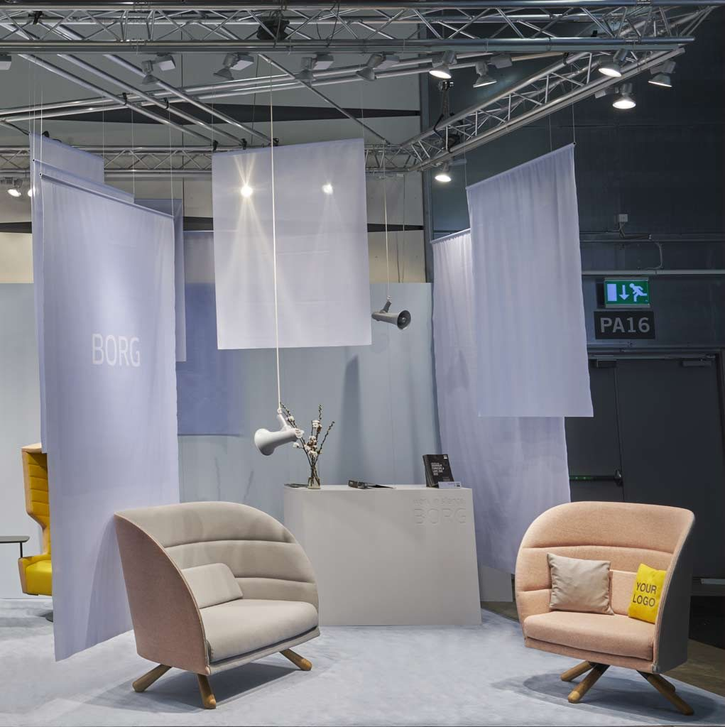 Stockholm furniture fair STAND A43.34
